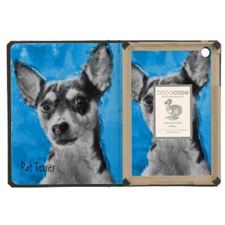 Rat Terrier Modern Art iPad Mini Case