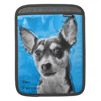 Rat Terrier, Modern Art,  ipad Sleeve