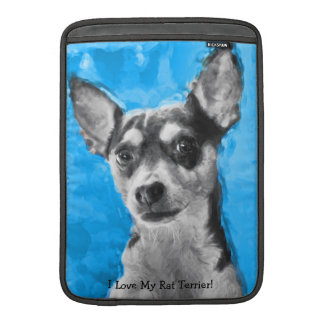 Rat Terrier, Modern Art, MacBook Air Sleeve