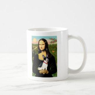 Rat Terrier - Mona Lisa Basic White Mug