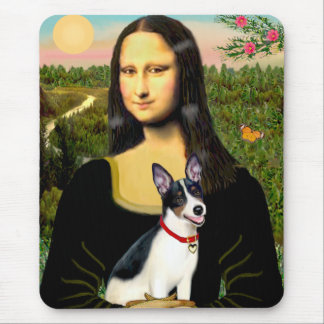 Rat Terrier - Mona Lisa Mouse Pad