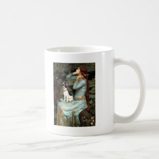 Rat Terrier - Ophelia Seated Basic White Mug