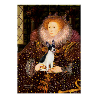Rat Terrier - Queen Poster