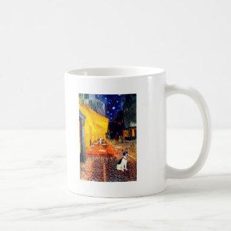 Rat Terrier - Terrace Cafe Basic White Mug