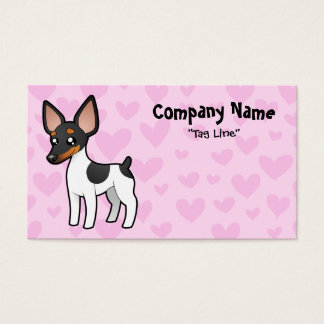 Rat Terrier / Toy Fox Terrier Love Business Card