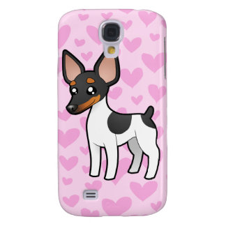 Rat Terrier / Toy Fox Terrier Love Galaxy S4 Case