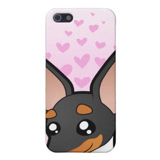 Rat Terrier / Toy Fox Terrier Love iPhone 5/5S Covers