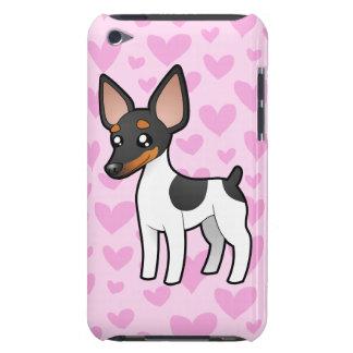 Rat Terrier / Toy Fox Terrier Love iPod Case-Mate Case