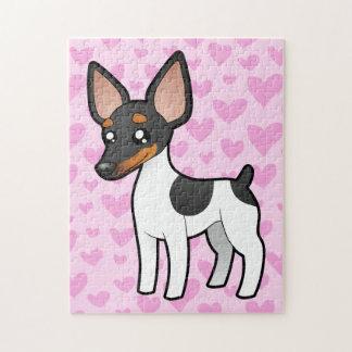 Rat Terrier / Toy Fox Terrier Love Jigsaw Puzzle