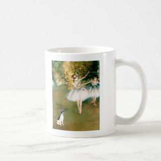 Rat Terrier - Two Dancers Basic White Mug