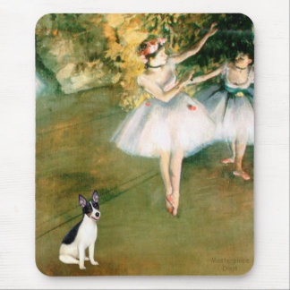 Rat Terrier - Two Dancers Mouse Pad