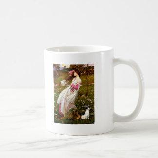 Rat Terrier - Windflowers Basic White Mug