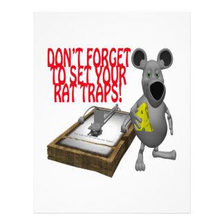 Rat Traps Flyer Design