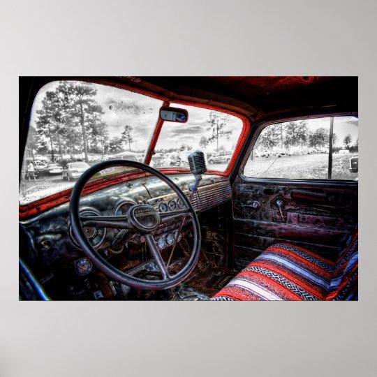 Rat Truck Interior Poster