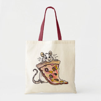 Rat with Pizza Bag