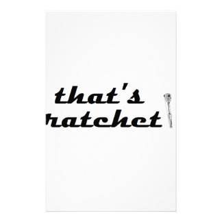 Ratchet Custom Stationery
