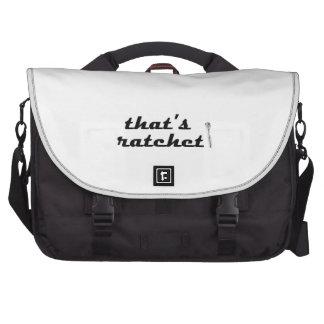 Ratchet Laptop Computer Bag