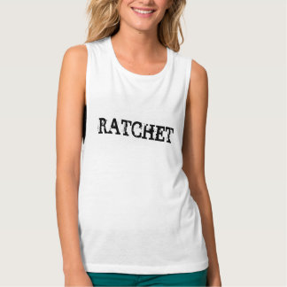 Ratchet Flowy Muscle Tank Top