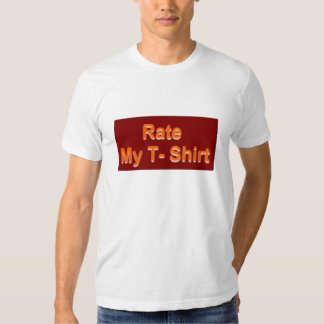 Rate my T-shirt