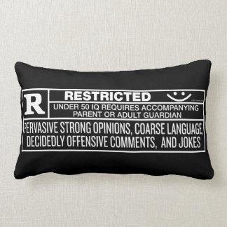Rate R Throws Lumbar Pillow