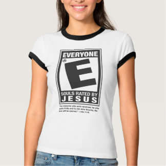rated E tee for ladies