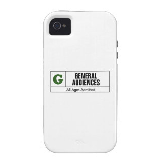 Rated G iPhone 4/4S Cover