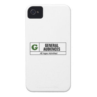 Rated G iPhone 4 Case-Mate Cases