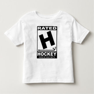 Rated H for Hockey Toddler T-Shirt