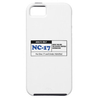 Rated NC-17 iPhone 5 Case