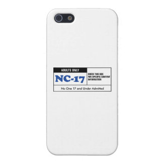Rated NC-17 iPhone 5 Cover