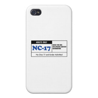 Rated NC-17 iPhone 4/4S Cases