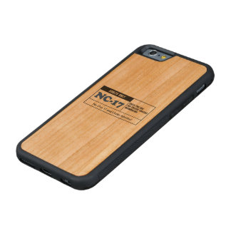 Rated NC-17 Cherry iPhone 6 Bumper Case