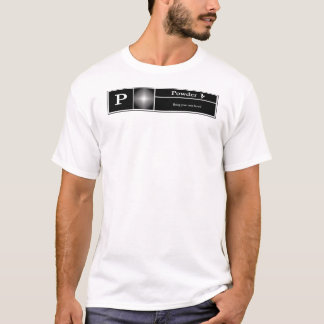 Rated P for Powder - Snowboarding T-Shirt