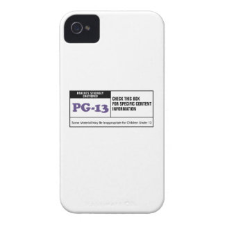 Rated PG 13 Case-Mate iPhone 4 Cases
