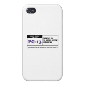 Rated PG 13 Case For iPhone 4