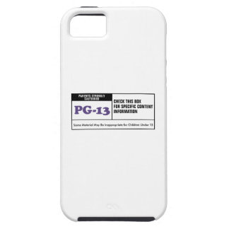 Rated PG 13 iPhone 5 Covers