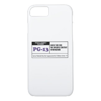Rated PG 13 iPhone 7 Case