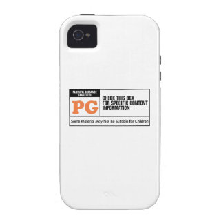 Rated PG Vibe iPhone 4 Case