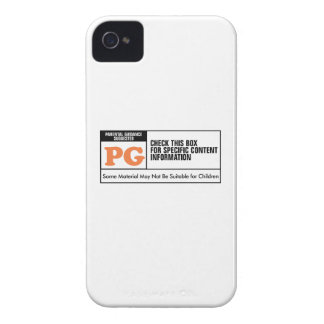 Rated PG iPhone 4 Cases