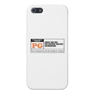 Rated PG iPhone 5 Cover