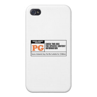 Rated PG iPhone 4 Case