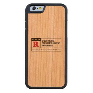 Rated R Carved® Cherry iPhone 6 Bumper Case