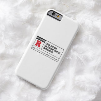 Rated R Barely There iPhone 6 Case