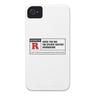 Rated R iPhone 4 Case