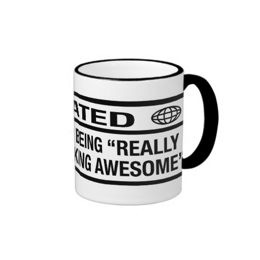Rated R for being awesome Coffee Mugs
