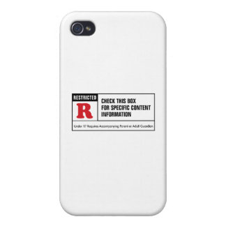 Rated R iPhone 4/4S Case