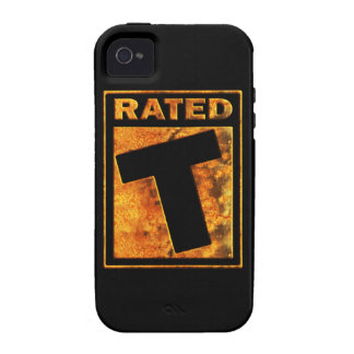 Rated-T for Teen Vibe iPhone 4 Cases