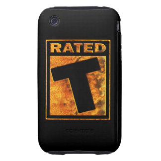 Rated-T for Teen iPhone 3 Tough Cases