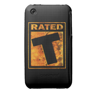 Rated-T for Teen iPhone 3 Cases
