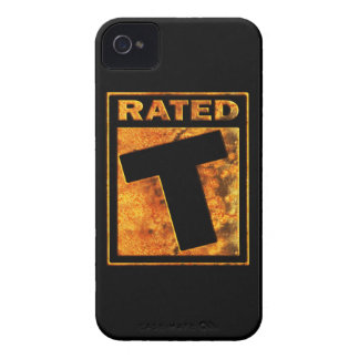 Rated-T for Teen iPhone 4 Case-Mate Case